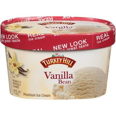 Turkey Hill Vanilla Bean Ice Cream - 48oz