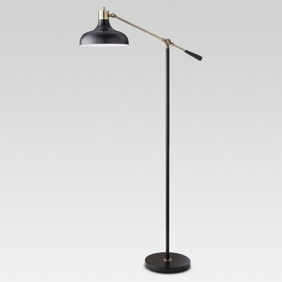 Crosby Schoolhouse Floor Lamp Black Lamp Only - Threshold™