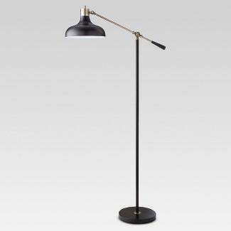 Crosby Schoolhouse Floor Lamp Black (Lamp Only) - Threshold™