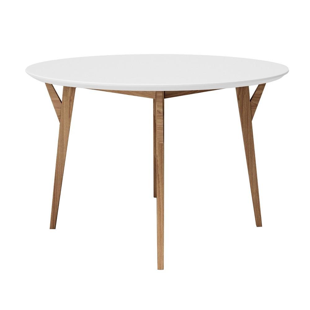 Steve Dining Table Wood/White/Ash - Aeon