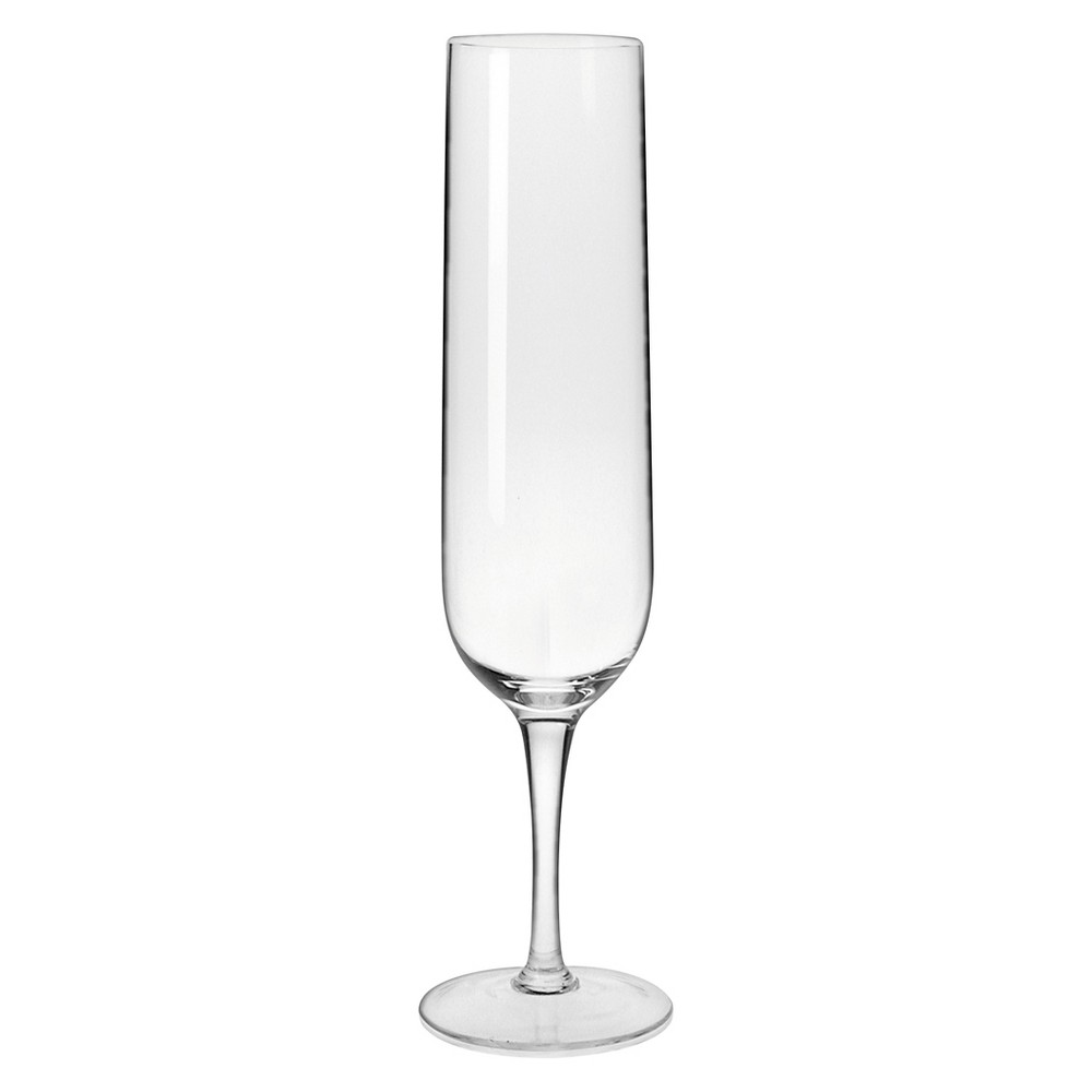 Image of Krosno Ava Champagne Flutes Handmade 8oz. Set of 4, Clear