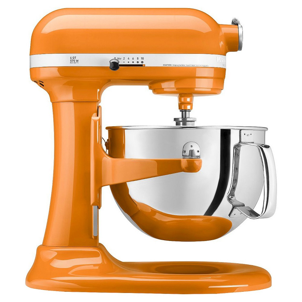KitchenAid Professional 600 Series 6-Quart Bowl-Lift Stand Mixer – KP26M1X, Orange 15744937