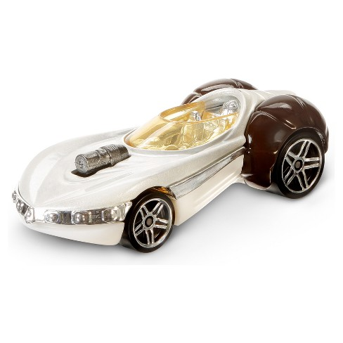 Hot Wheels Star Wars: The Last Jedi - Princess Leia Character Car Vehicle - image 1 of 3