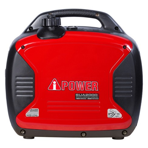 2000 Watt Ultra-Quiet Gasoline Powered Inverter Portable Generator With Parallel Capability - A-iPower - image 1 of 7