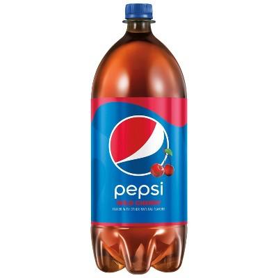 Pepsi Wild Cherry Flavored Cola Soda - 2L Bottle