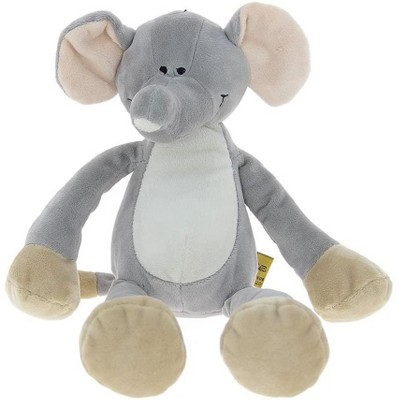 TriAction Toys Teddykompaniet Diinglisar Collection 15 Inch Plush Animal | Elephant