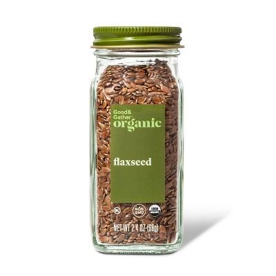 Organic Flax Seed - 2.4oz - Good & Gather™