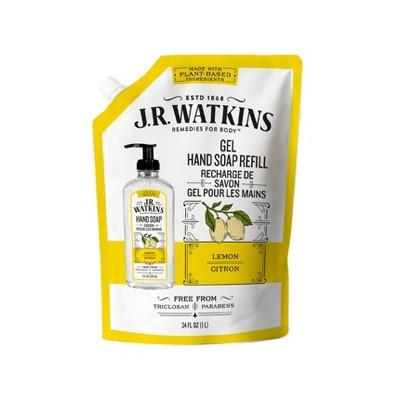 J.R. Watkins Lemon Liquid Hand Soap Refill - 34 fl oz
