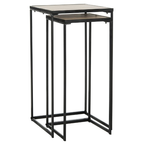 Callia End Table - Light Brown - Safavieh® - image 1 of 4