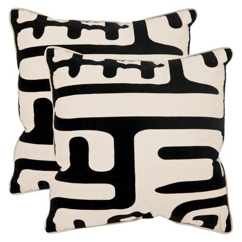 Abstract Throw Pillow - Safavieh® - image 1 of 2