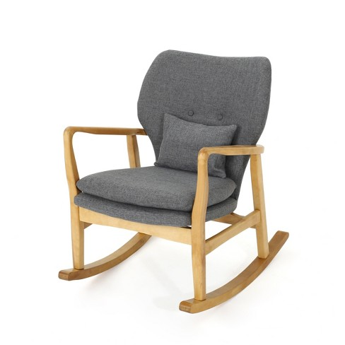 Brilliant Benny Mid Century Modern Rocking Chair Christopher Knight Home Gmtry Best Dining Table And Chair Ideas Images Gmtryco