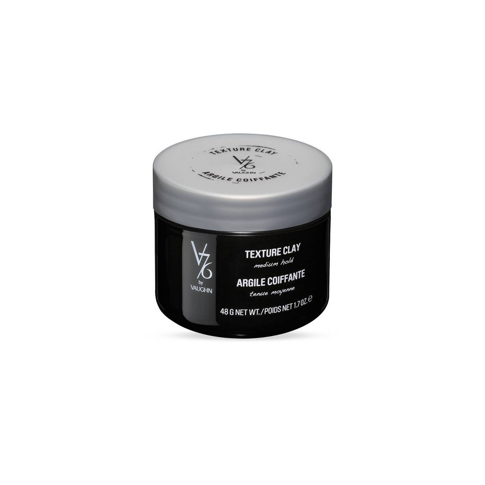 Image of V76 by Vaughn Texture Clay Medium Hold Formula for Men - 1.7 fl oz