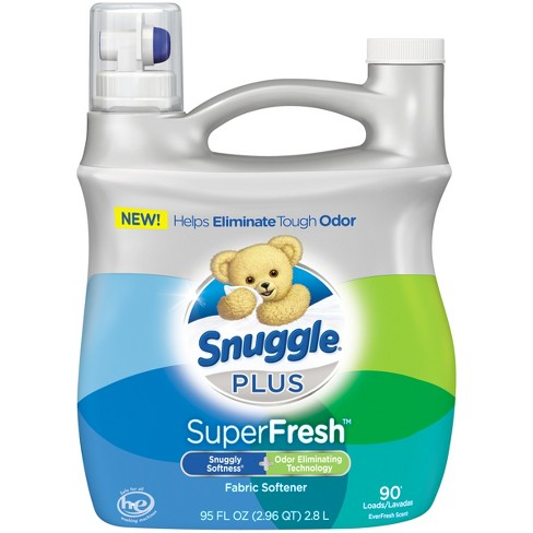 Snuggle PLUS SuperFresh Liquid Fabric Softener - 95 fl oz - image 1 of 6
