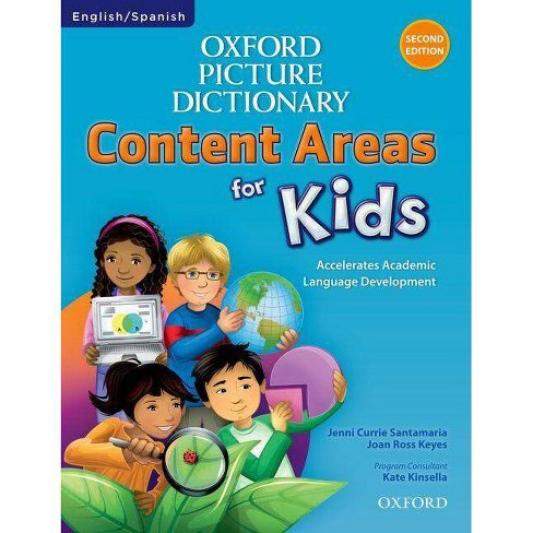 Oxford Picture Dictionary Content Area for Kids English-Spanish Dictionary - (Paperback) - image 1 of 1