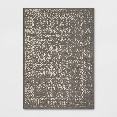 ComerfordDistressed Jacquard Persian Wool Woven Area Rug - Threshold™