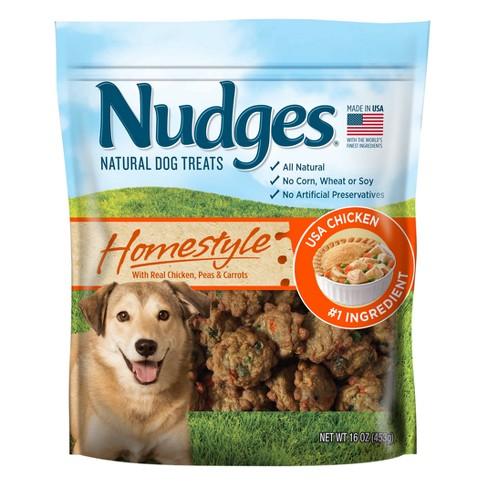Nudges Homestyle Dog Treats - Chicken Pot Pie - 16oz - image 1 of 3