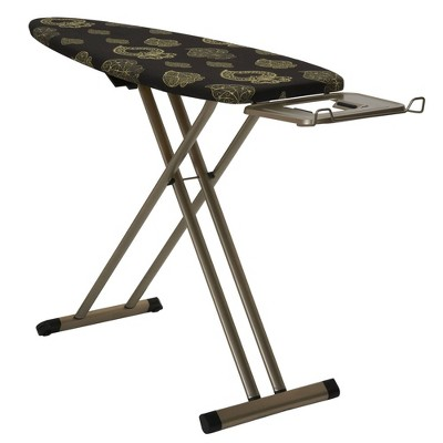 Household Essentials 4 Leg Ironing Board Black