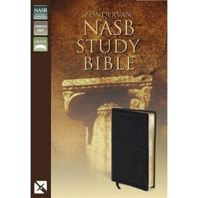Zondervan Study Bible-NASB - (Leather Bound)