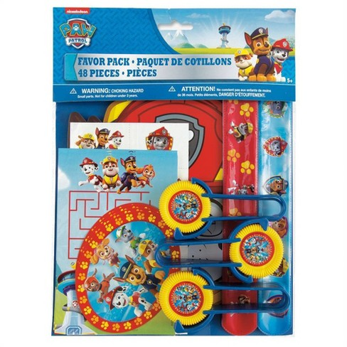 PAW Patrol 48ct Party Favor Supplies - image 1 of 4