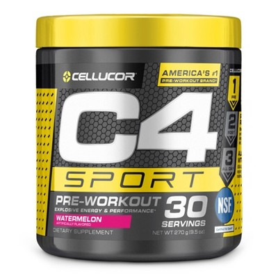Cellucor C4 Sport Pre Workout Powder Watermelon 9 5oz Target