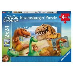 Ravensburger Disney The Good Dinosaur: 2pk Puzzles 24pc