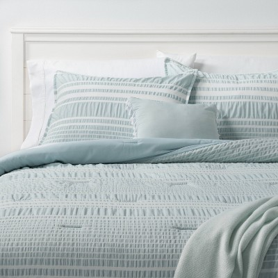 5pc Chatham Stripe Comforter Set Blue - Threshold™