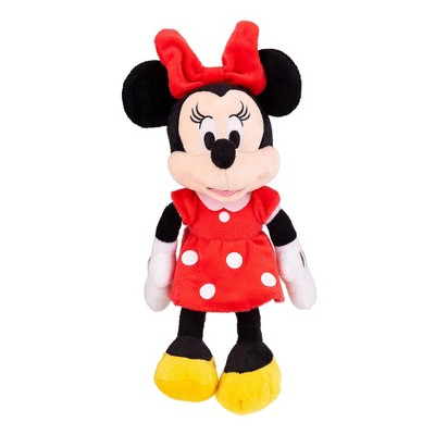 Just Play Disney Minnie Mouse 11 inch Child Plush Toy Stuffed Character Doll