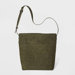 Zip Closure Bucket Bag - Universal Thread™