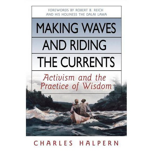 Making Waves and Riding the Currents - by  Charles Halpern (Hardcover) - image 1 of 1