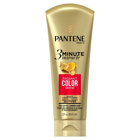 Pantene Pro-V 3 Minute Miracle Radiant Color Deep Conditioner - 8 fl oz - image 1 of 4
