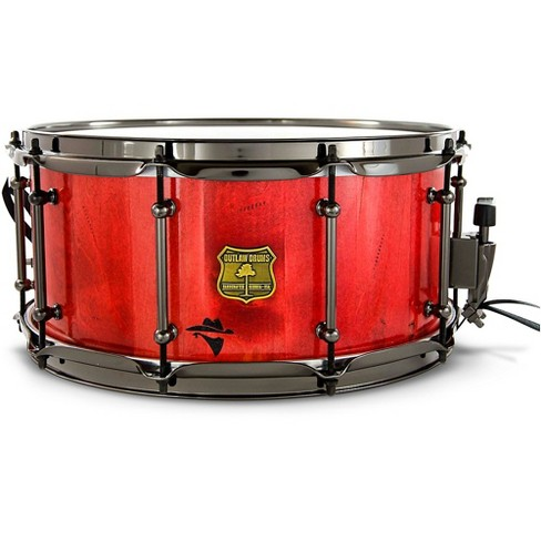 OUTLAW DRUMS Bandit Series Snare Drum with Black Hardware - image 1 of 4