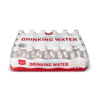 Purified Water - 24pk/8 fl oz Mini Bottles - Market Pantry™