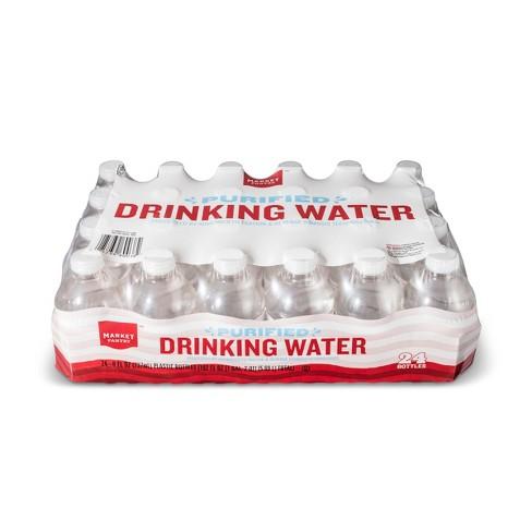 Purified Water - 24pk 8 Fl Oz Mini Bottles - Market Pantry™   Target 15152243b166