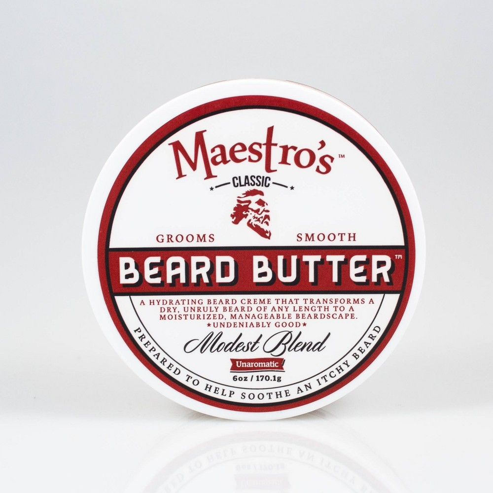 Image of Maestro's Classic Beard Butter Modest Blend – 6.0 oz