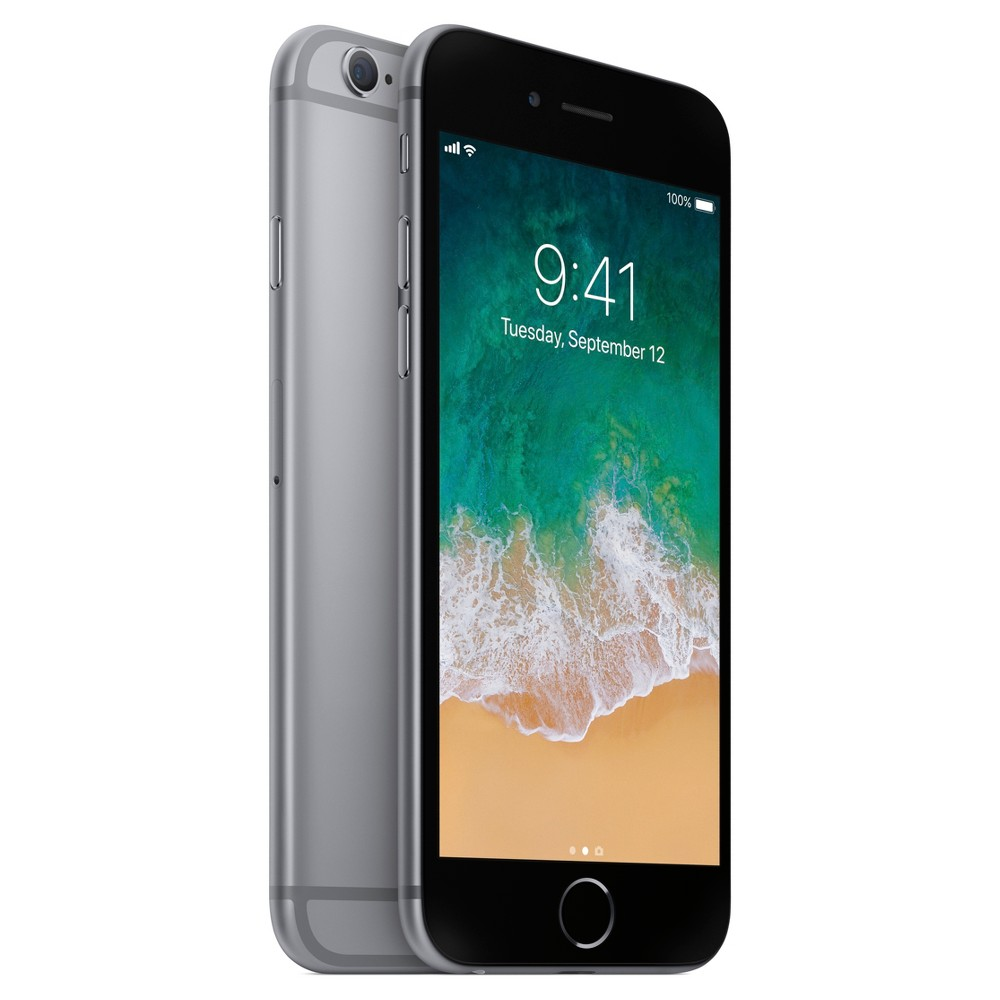 iPhone 6S - with 2 year contract, Space Gray