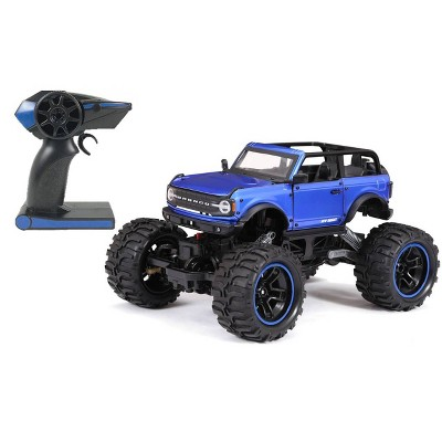 """New Bright R/C 4x4 Heavy Metal Ford Bronco 1:14 Scale  13.5"""""""
