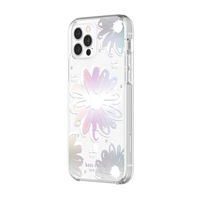 Kate Spade New York iPhone 12/12 Pro MagSafe Protective Hardshell Case - Daisy Iridescent