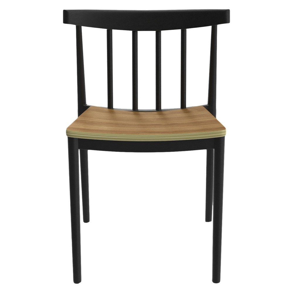 Benjamin Dining Chairs - Black (Set Of 2) - Aeon