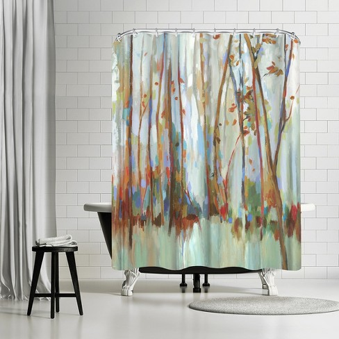 Americanflat Soulmates By Pi Creative Art 71 X 74 Shower Curtain Target