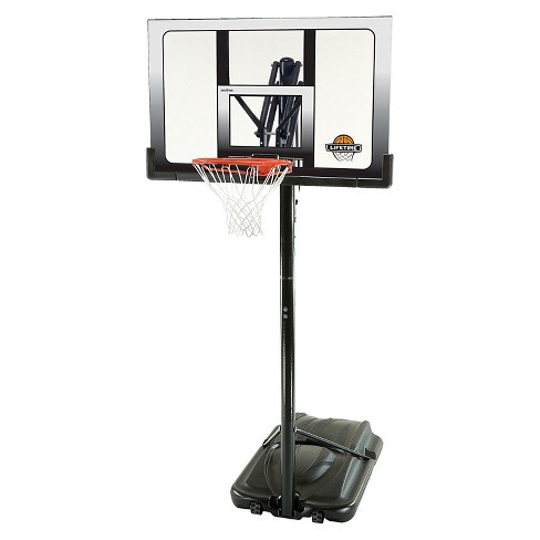 "Lifetime Power Lift 52"" Portable Basketball Hoop - image 1 of 7"