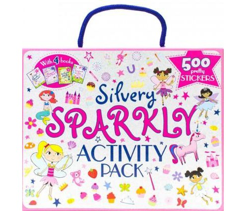 Silvery Sparkly Activity Pack (Paperback) - image 1 of 1