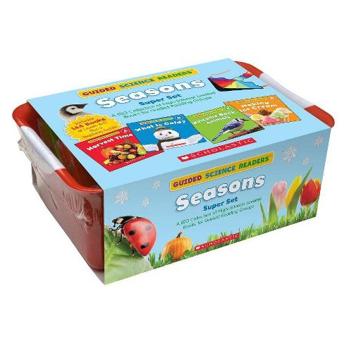 Guided Science Readers Super Set: Seasons - by  Liza Charlesworth (Paperback) - image 1 of 1