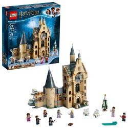 LEGO Harry Potter and The Goblet of Fire Hogwarts Clock Tower Castle Playset with Minifigures 75948