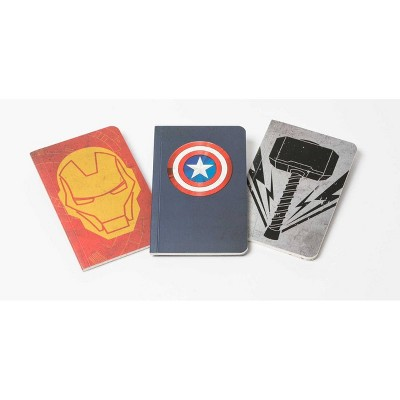 Marvel's Avengers Pocket Notebook Collection (Set of 3) - (Comics) by  Insight Editions (Paperback)