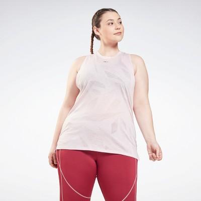 Reebok Burnout Tank Top (Plus Size) Womens Athletic Tank Tops