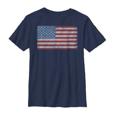 Boy's Lost Gods Fourth of July  Vintage Freedom T-Shirt