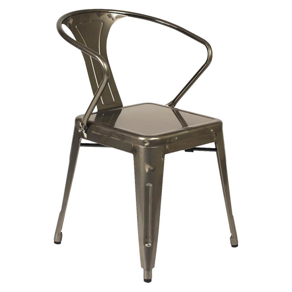 Gisela Dining Chairs - Gunmetal (Grey) (Set Of 2) - Aeon