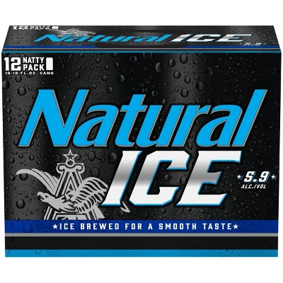 Natural Ice Beer - 12pk/12 fl oz Cans