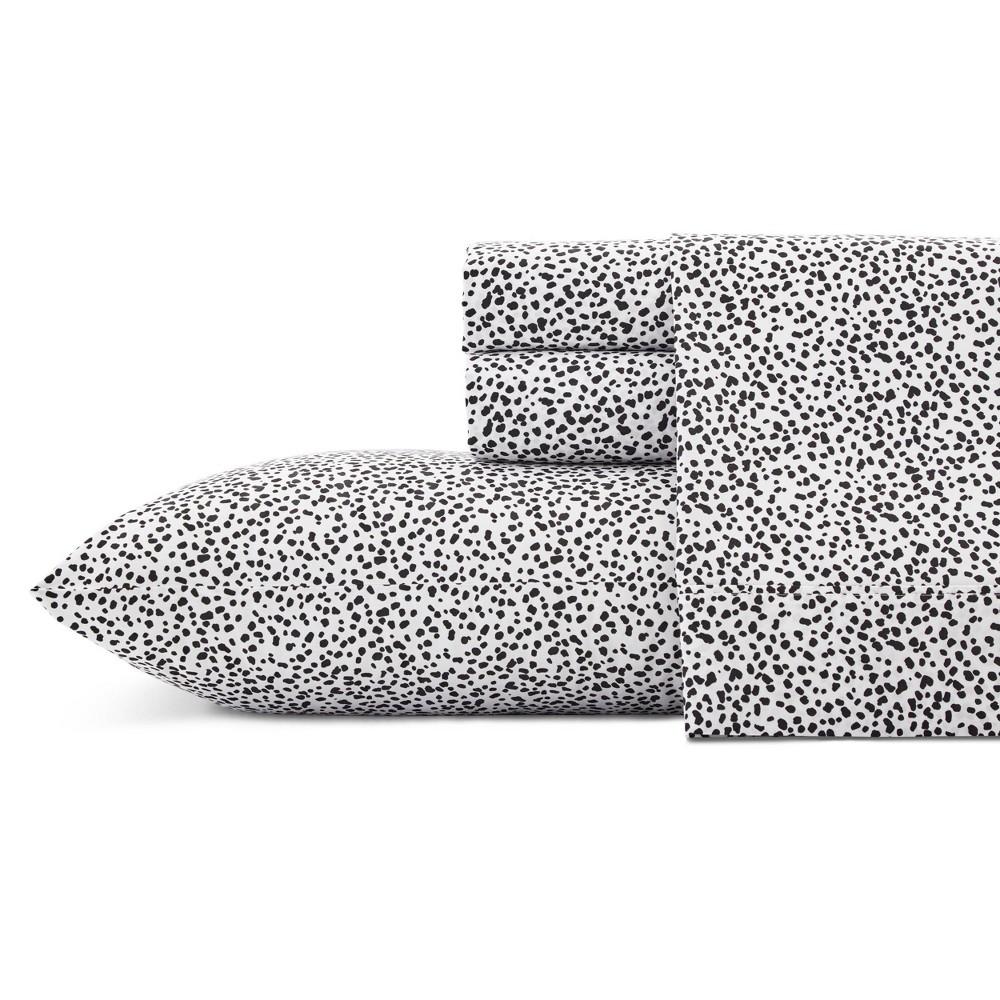 Image of Full Printed Pattern Cotton Sheet Set Spots - Novogratz