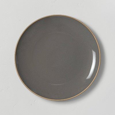 Stoneware Exposed Rim Dinner Plate - Hearth & Hand™ with Magnolia